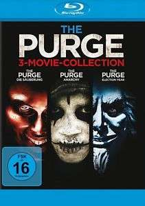 The Purge Trilogie (Die Säuberung / Anarchy / Election Year) 3 Blu-ray (eBay)