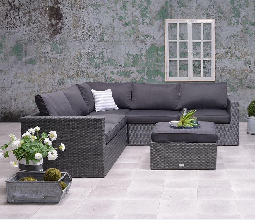Marken-Loungeset Garden Impressions Cayman II, Polyrattan Gartenmöbel, 587,28€ (amazon.de)