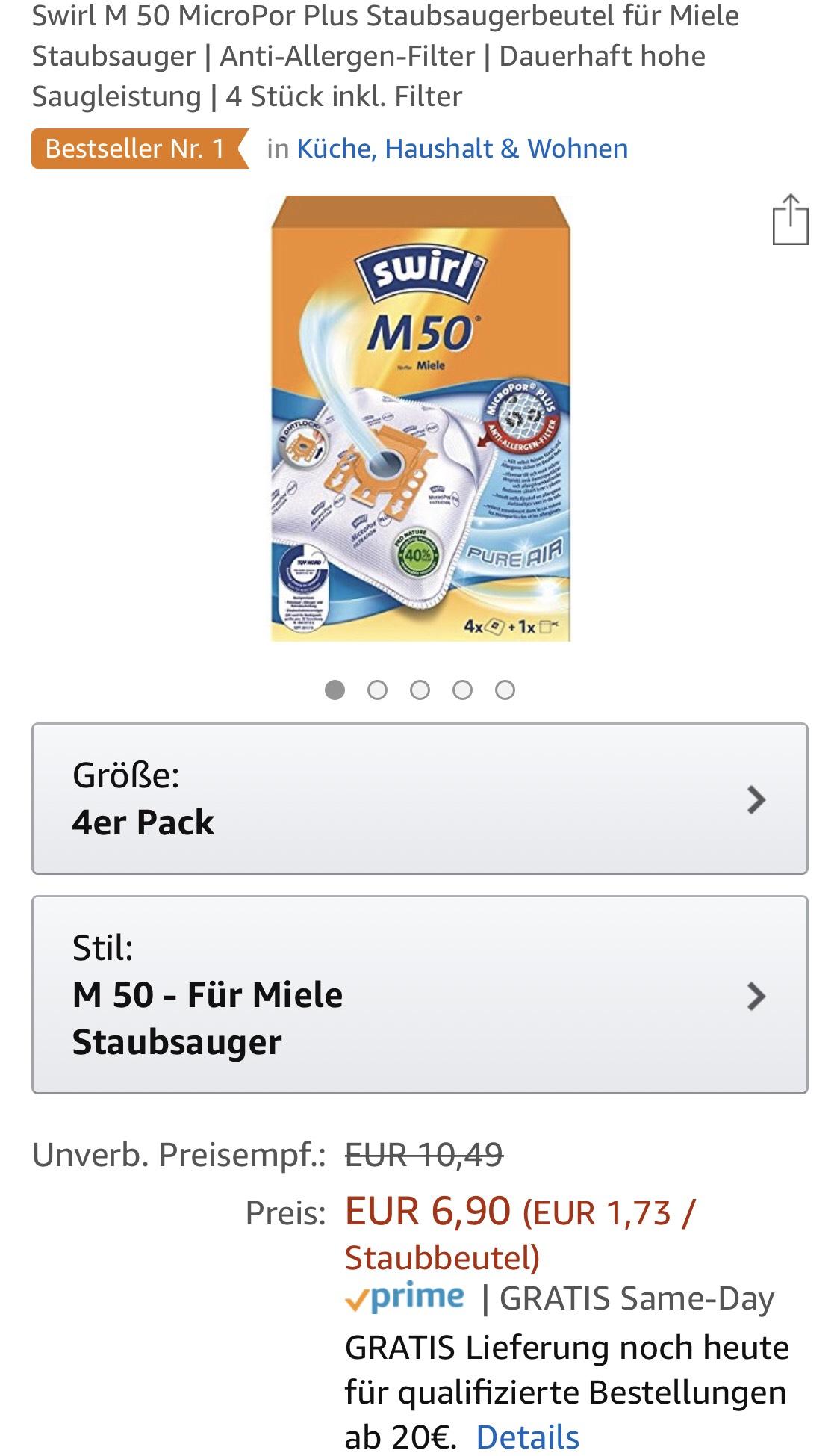 Swirl M50 4er Pack