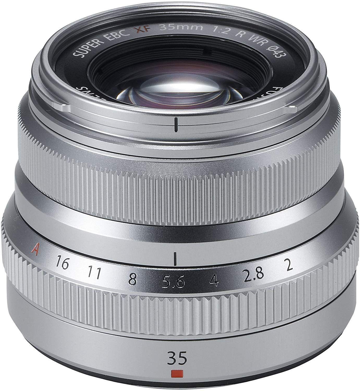 Fujifilm Fujinon XF35F2 R WR Objektiv Silber