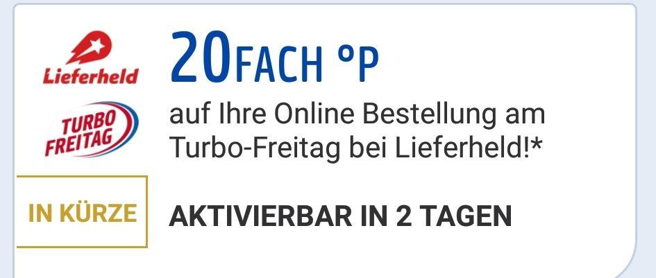 """20 Fach Payback Punkte am """"Turbo Freitag"""" Lieferheld.de/ ->Mein 200.Deal-<= Media Markt, Bücher.de und Lieferando Gutscheine zu verschenken!"""