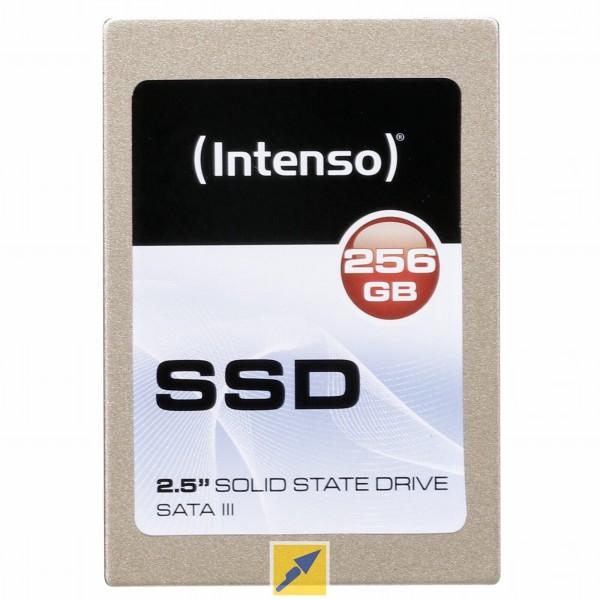 """SSD intern Intenso 2,5"""" SSD TOP 256GB SATA III für 35€ [Technikdirekt mit Masterpass]"""
