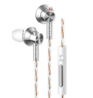 2x Onkyo E700m In-Ear-Kopfhörer mit Mikrofon bei ibood im Tagesdeal