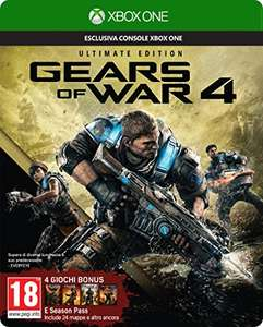 Gears of War 4: Ultimate Edition (inkl. Season Pass) (Xbox One) für 23,42€ (Amazon IT)