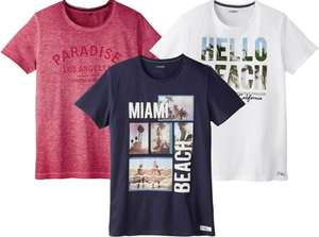 Mode für Männer im Sommerschlussverkauf bei [Lidl] T-Shirts für 2€, Shorts für 4€