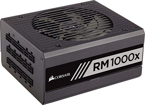 [amazon]  Corsair RM1000x PC-Netzteil (Voll-Modulares Kabelmanagement, 80 Plus Gold, 1000 Watt, EU) im Blitzangebot bis 14:00 Uhr