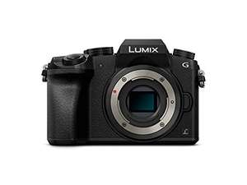 Panasonic Lumix DMC-G70 schwarz Gehäuse