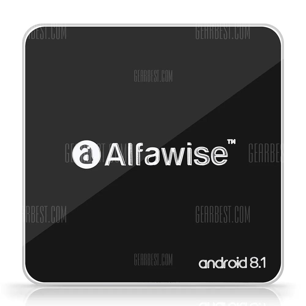 Alfawise A8 TV BOX Rockchip 3229 1.5Ghz 2GB RAM 16GB Speicher Android 8.1 für 25.13€ @ Gearbest