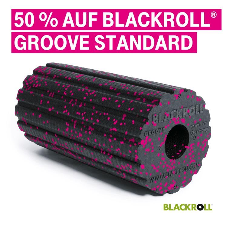50% Rabatt auf BLACKROLL® GROOVE STANDARD FASZIENROLLE MEGA-DEAL EDITION