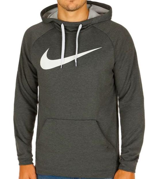 Nike Trainings Dry-Fit Hoodie in Grau (S-2XL)