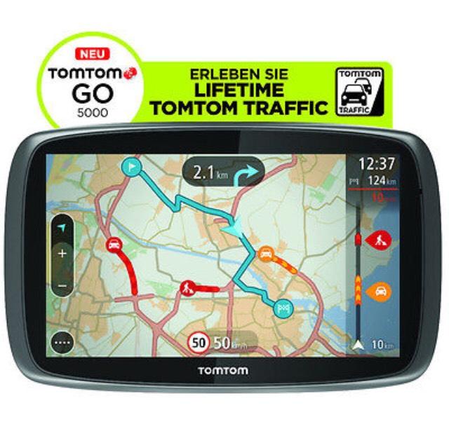 TomTom GO 5000 M Navigationssystem Refurbished eBay