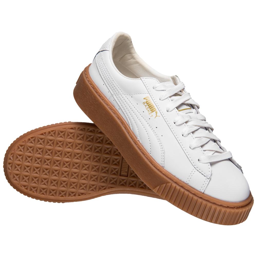 Diverse Puma Platform Sneakers für Damen z.B. Basket Platform Core für jew. 39,99€ zzgl. Versand