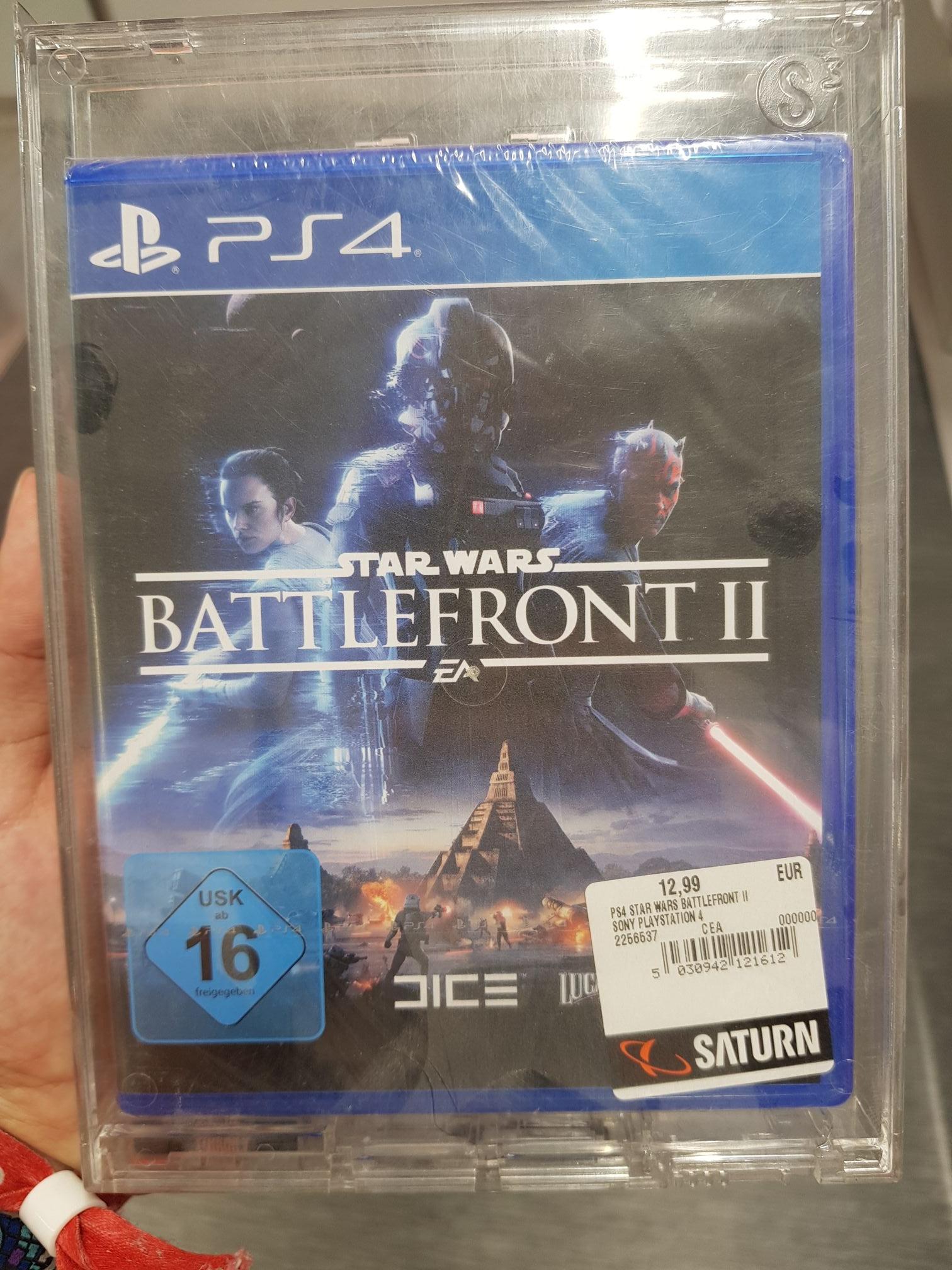 [Lokal] Saturn FRA Zeil   PS4 Spiel   Star Wars Battlefront 2 12,99€