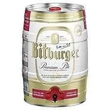 [Lokal Leipzig] Bitburger Bier 5L Fass