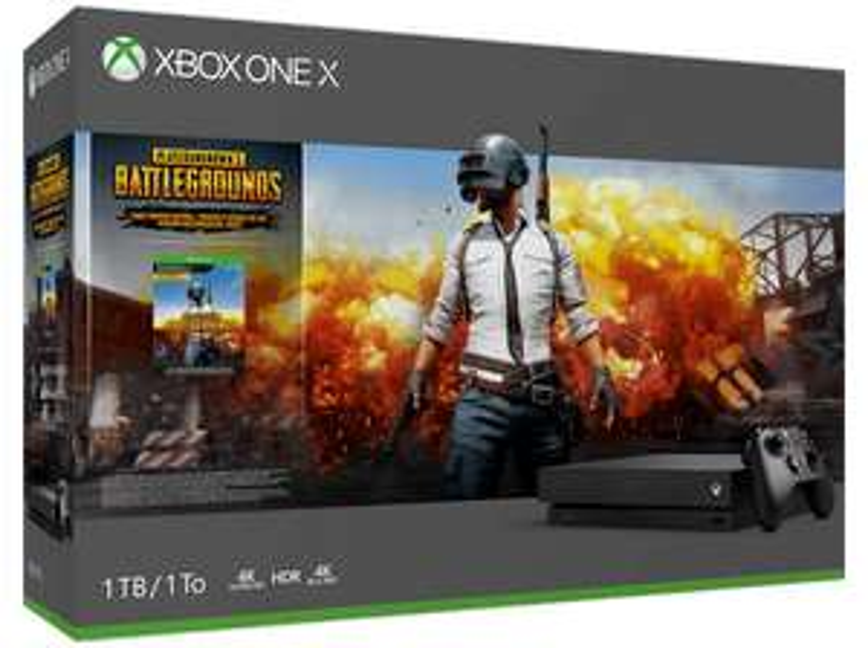 Xbox One X + PUBG im Saturn Frankfurt Zeil