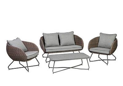 Gartenmöbel von Testrut bei brands4friends im Sale, z.B. Lounge-Set 4-tlg.