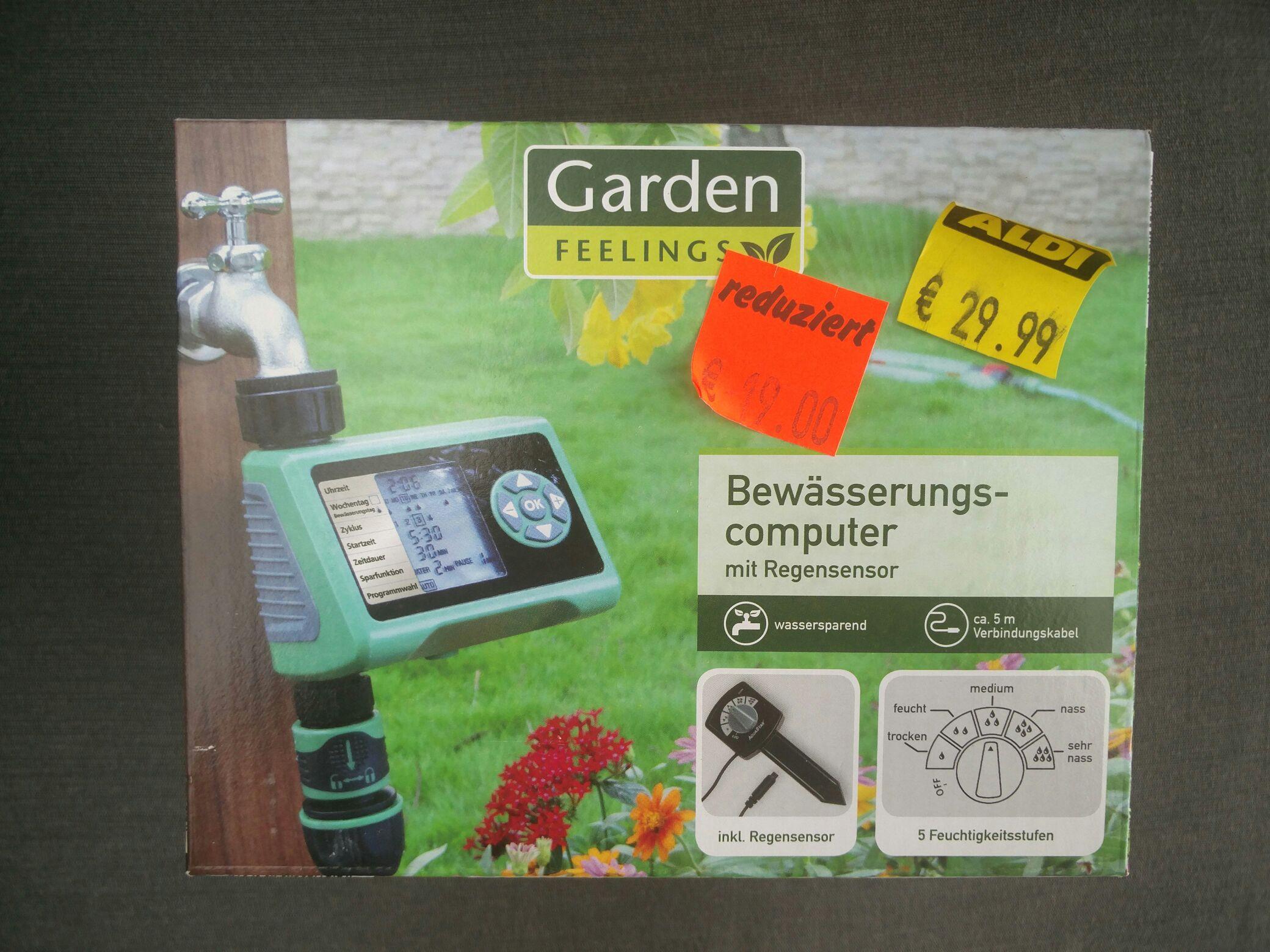 [Lokal] Aldi Nord (Bad Oeynhausen) Bewässerungs-Computer