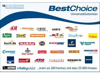 5€ BestChoice Gutschein für alle o2-Kunden