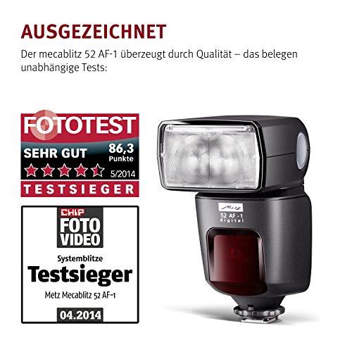 Metz mecablitz 52 AF-1 Blitz für Nikon Kameras (DSLR und CSC) [Amazon.it]