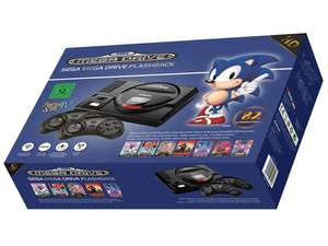 AT Games SEGA MegaDrive Flashback HD Retro Spielekonsole für 74,99 bei Lidl