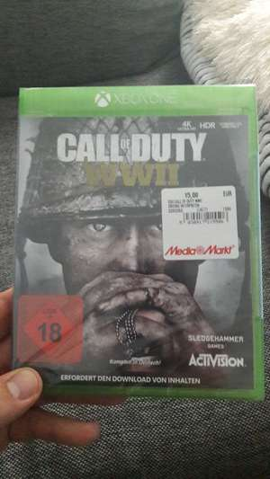 [Lokal] Call of Duty World War 2 Xbox One für 15€ (MM Berlin-Prenzlauer Berg)
