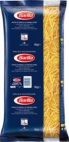 [Amazon] Barilla Hartweizen Pasta Pennette Rigate n. 72 – 3er Pack (3x5kg)