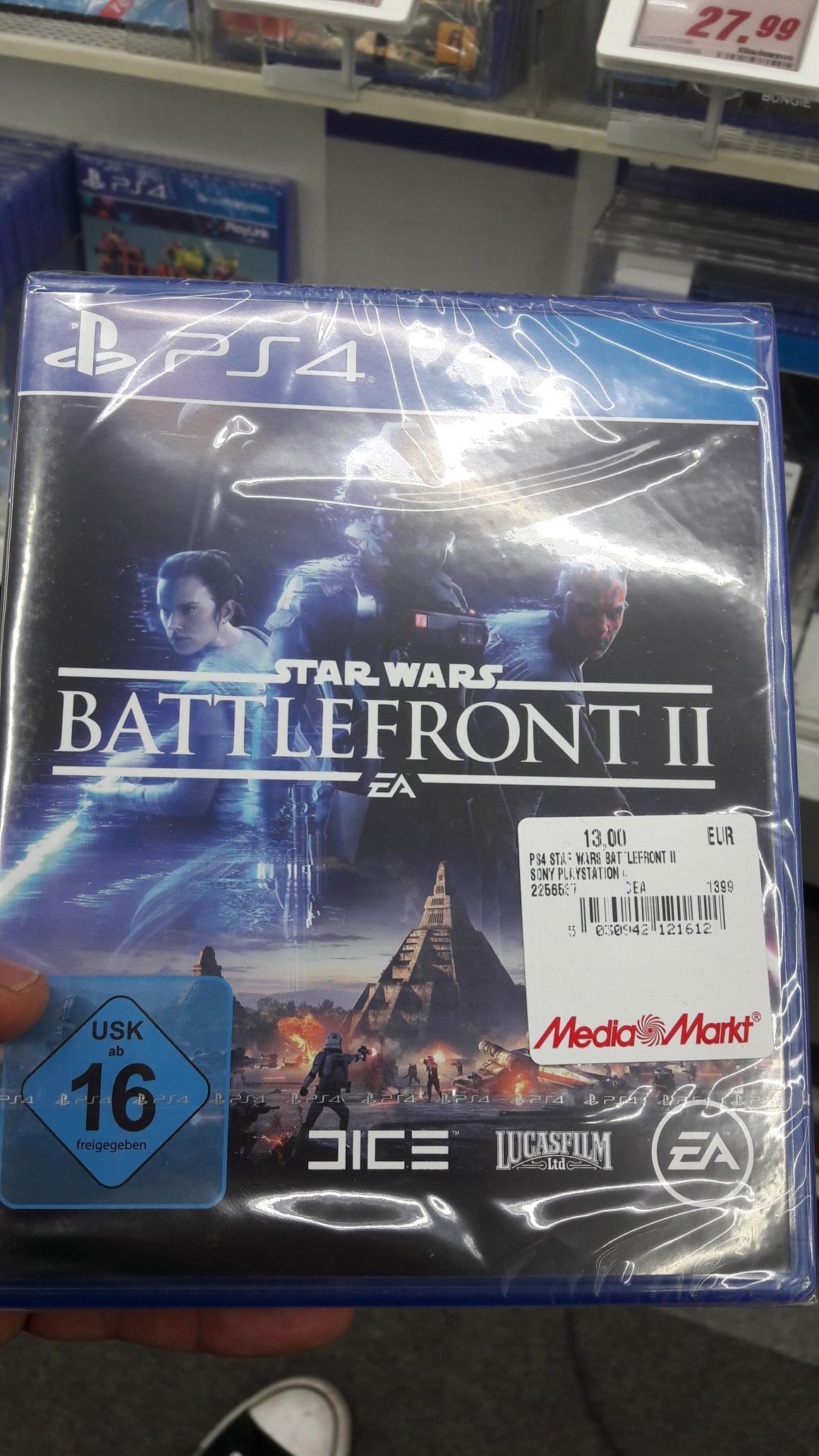 [Lokal] Star Wars Battlefront 2 (PS4) für 13€ (MM Berlin Prenzlauer Berg)