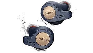 JABRA Elite Active 65T, In-ear True Wireless Kopfhörer, Blau/Kupfer [Media Markt Online]