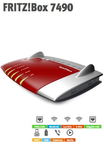 o2 DSL mtl. kündbar mit 100 MBit/s, Allnet (Mobil-) Flat, 120 Euro Cashback und evtl. FRITZ!Box 7490 mit effektivem Gewinn