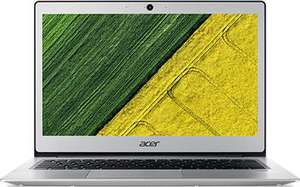 Acer Swift 1 SF113-31-P72F silber, N4200 Notebook 13.3 Zoll, 4x 1.10GHz, 4GB RAM, 64GB Flash, Win10S / Pro