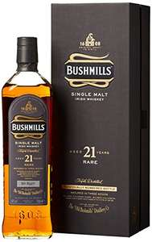 [amazon.de] Bushmills 21 Jahre Single Malt Irish Whiskey (1 x 0.7 l)