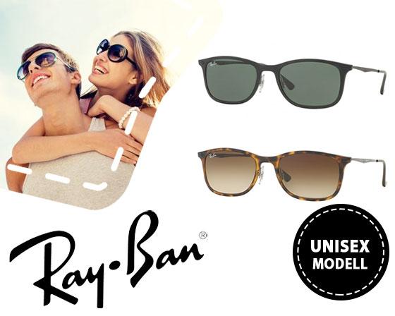 Ray Ban Sonnenbrille Wayfarer Light (RB4225) in 2 guten Farben mit Titangestell