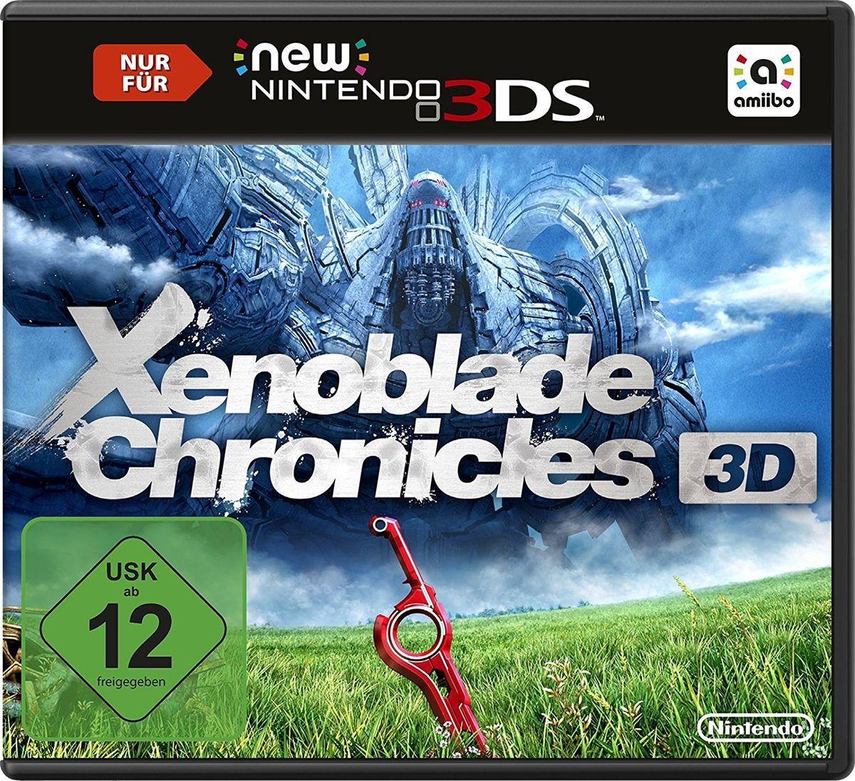 Xenoblade Chronicles 3D für 23,99€ (bzw. 24,99€ ohne Neukundengutschein