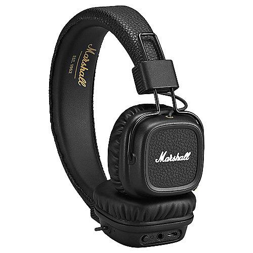 [cyberport] Marshall Major II Bluetooth On-Ear-Kopfhörer (aptX, faltbar, 1-Tasten-Fernbedienung) schwarz