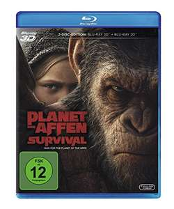 Planet der Affen: Survival 3D (3D Blu-ray + Blu-ray) für 12,72€ (Amazon Prime)