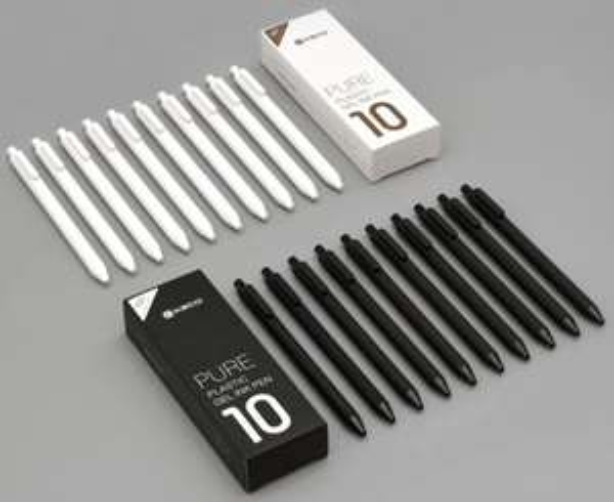 10 Gel Stifte von Xiaomi (?) im Apfel - Design