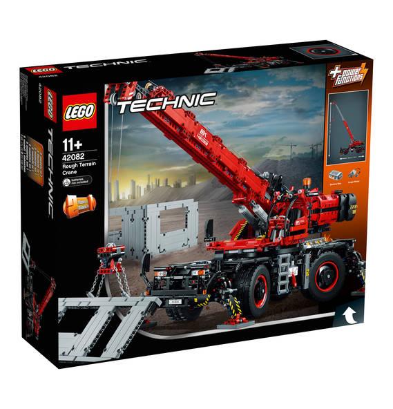 LEGO Technic 42082 Geländegängiger Kranwagen [Galeria Kaufhof] [mit PAYBACK 148,17€!]