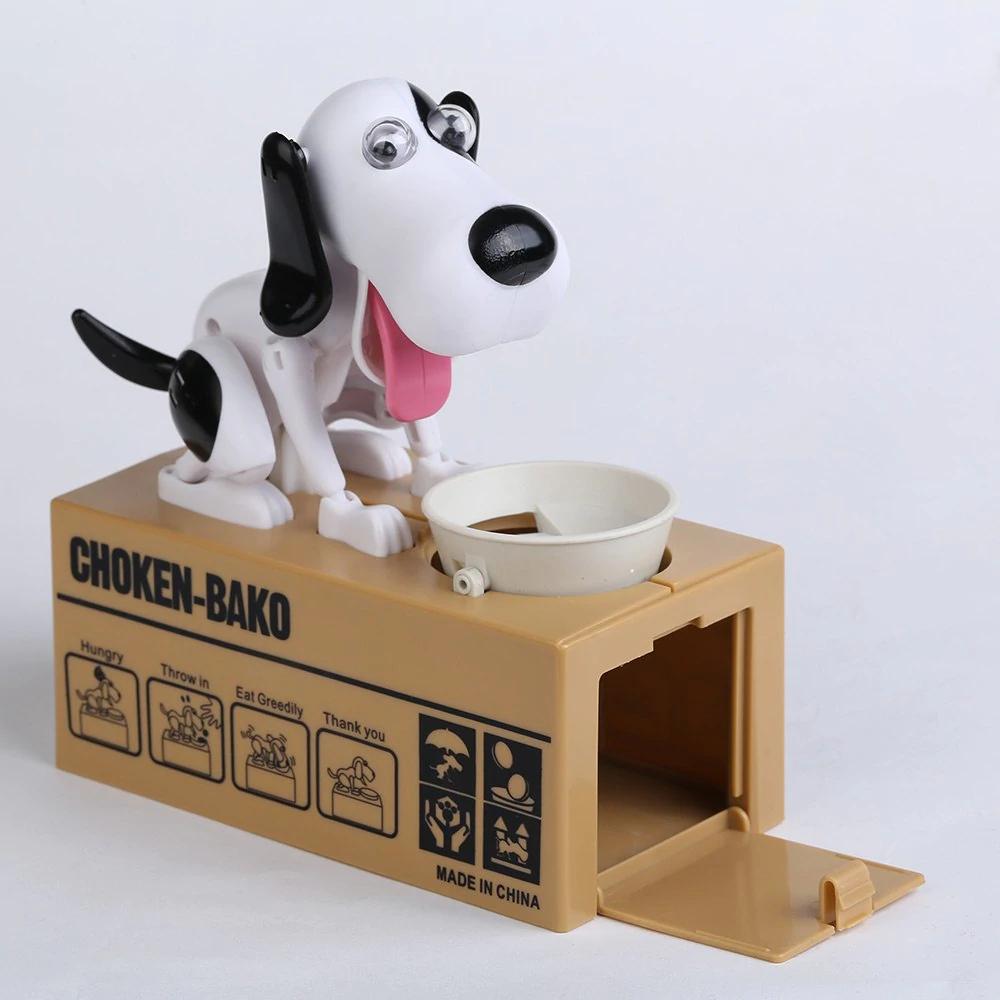 """Money-Box """"Choken-Bako"""" im Hunde-Design -  bzw Sparschwein mit Funktion (Dresslily)"""