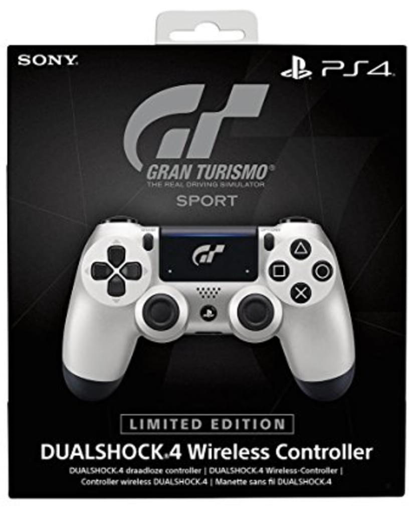 Sony™ - PS4 DualShock 4 Wireless Controller (Limited Edition GT Sport) für €34,97 [@Real.de]