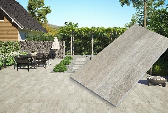 Keramikplatte / Terrassenplatte für Garten