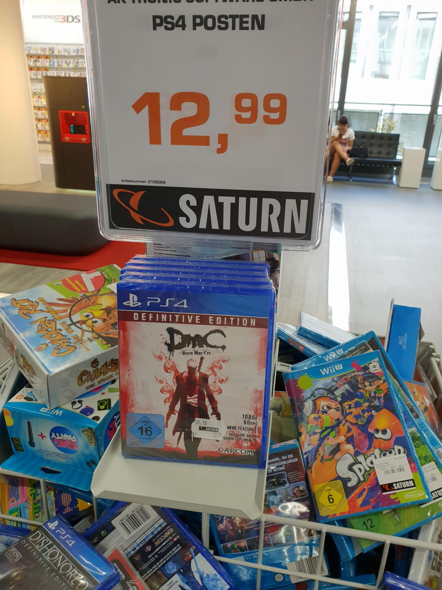 [LOKAL] Saturn Köln City Devil May Cry Definitive Edition PS4