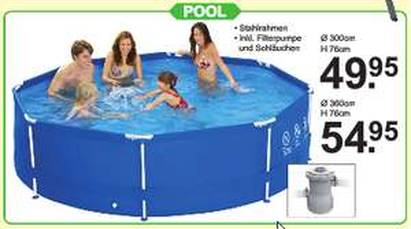 (LOKAL NL) Pool 360 x 76 für 54,95€ Van Cranenbroek