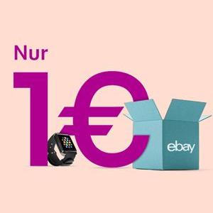 eBay Verkaufstag - Nur 1€ Gebühr und keine Provision + 10€ Gutschein für eingeladene Mitglieder am 12.08.