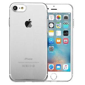 Apple iPhone 7 Hülle / 8 Hülle Silikon Transparent Handyhülle Case Bumper Cover für 1 EUR [ebay]