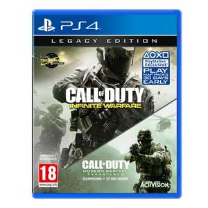 Call of Duty: Infinite Warfare (Legacy Edition inkl. Modern Warfare Remastered) (PS4) für 12,40€ (Base.com)
