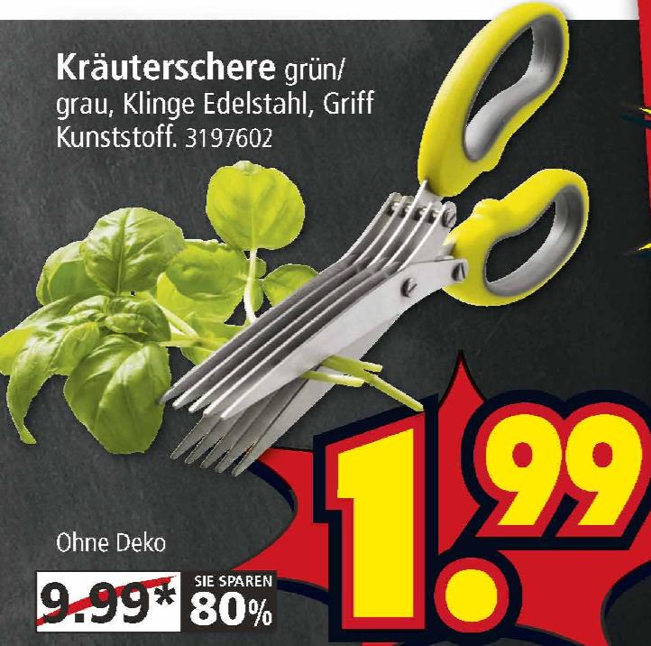 [Weiterstadt] Kräuterschere für 1,99€ bei Segmüller