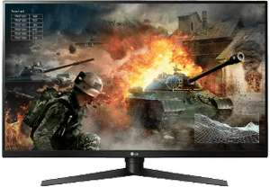 LG 32GK850G 31.5 Zoll Gaming Monitor (5 ms Reaktionszeit, G-SYNC, 165 Hz)