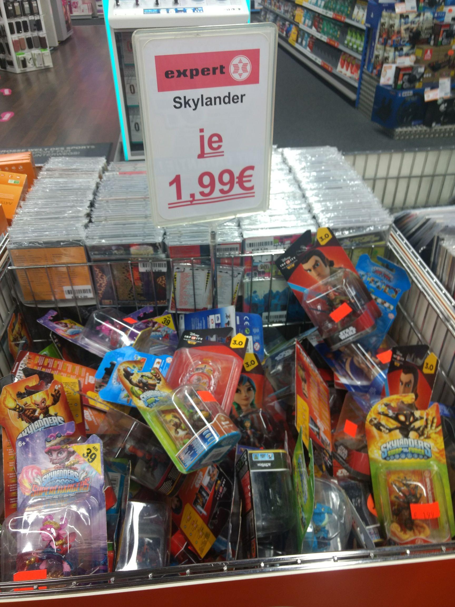 Skylanders Figuren für 1,99€ (Lokal Expert Ibbenbüren)