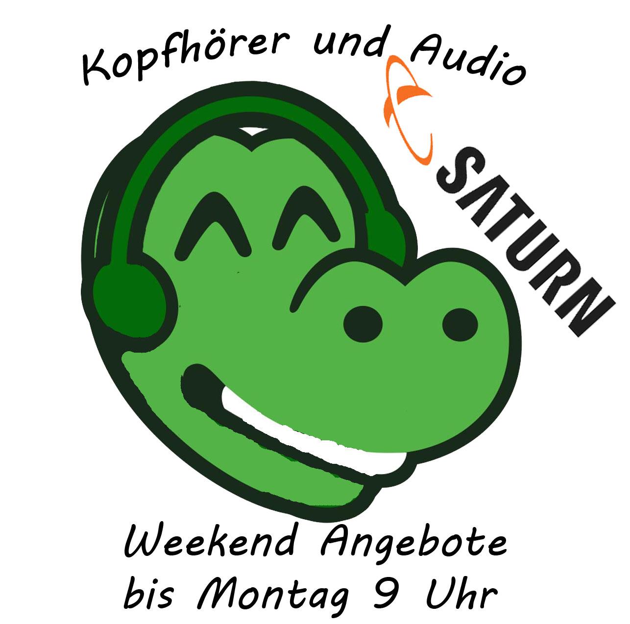 Kopfhörer und Audio Angebote bei Saturn: z.B. Onkyo TX-NR 656 für 333€ statt 418€; Dockin D Mate Lautsprecher für 69€ statt 89€ uvm.