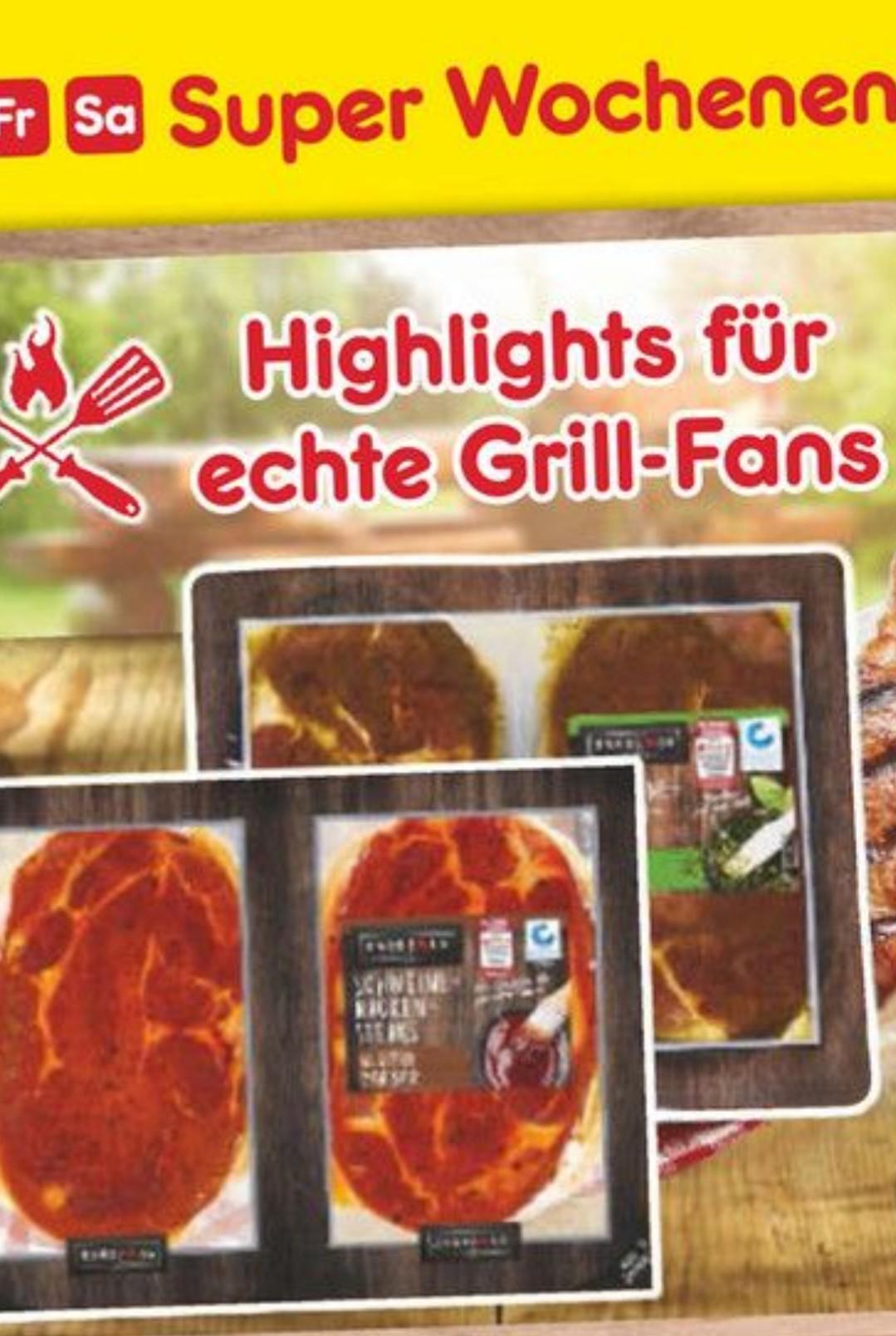 Netto MD ab heute Schweine-Nackensteaks für 2,39 + Grillkohle wenn man 2 Packungen kauft!